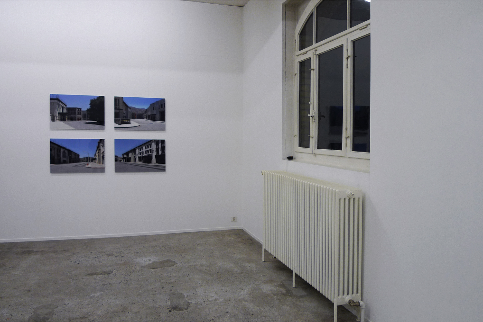 WB, Studio Warner Brothers, Los Angeles, series of 4 photographs, inkjet print / PVC and Plexiglas, 47 x 70 x 1 cm, 2010, with Swann Thommen
