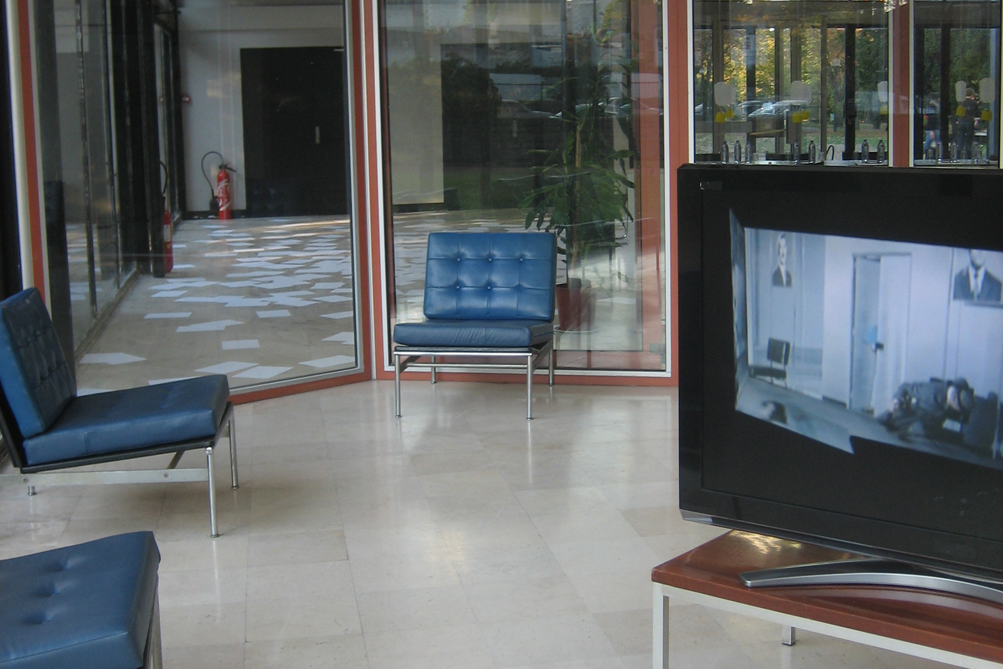 "Expanded Play Time, installation vidéo SD, 16/9, 576i, 4'57"", 2004, en collaboration avec Swann Thommen"