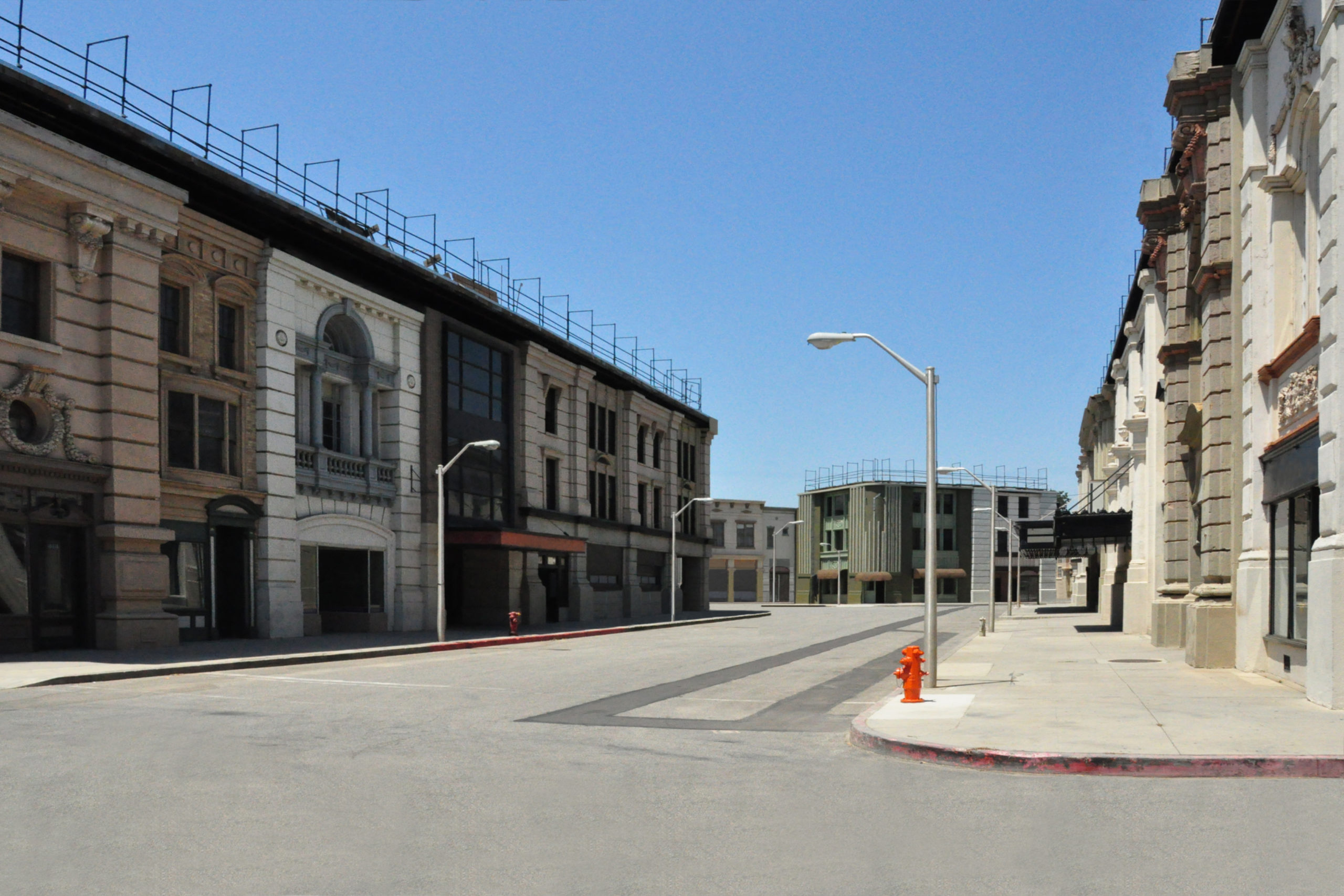 WB 1, Studio Warner Brothers, Los Angeles