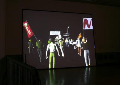 On stage, Palais de l'Athénée, Geneva, CH, 2007