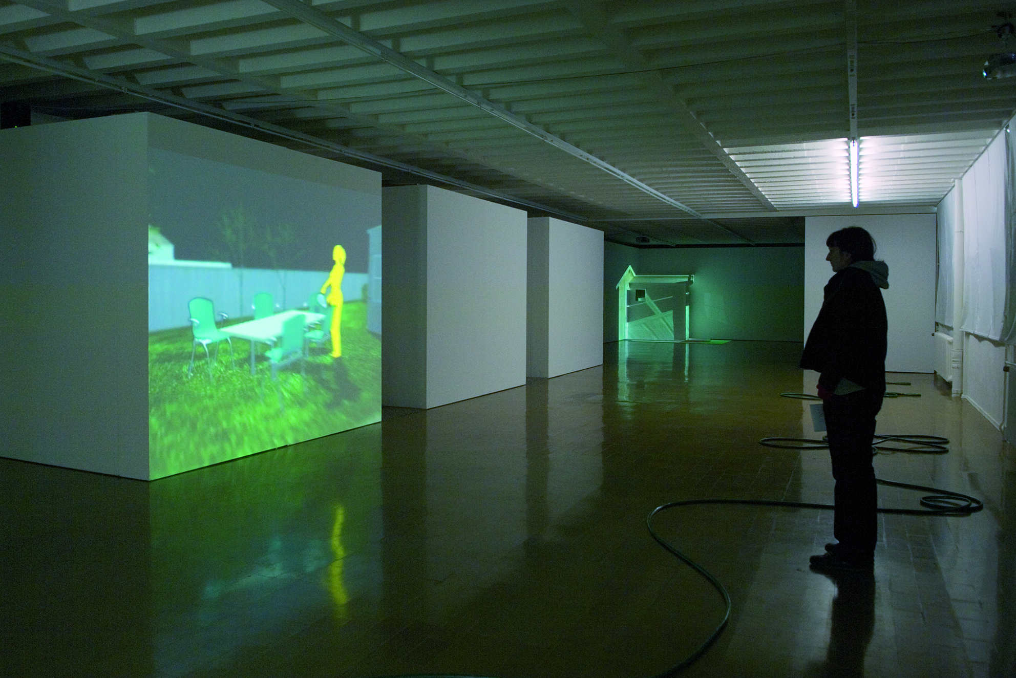 habitA, video SD, 4/3, 576i, loop, 2003, in collaboration with Swann Thommen, © René Rötheli