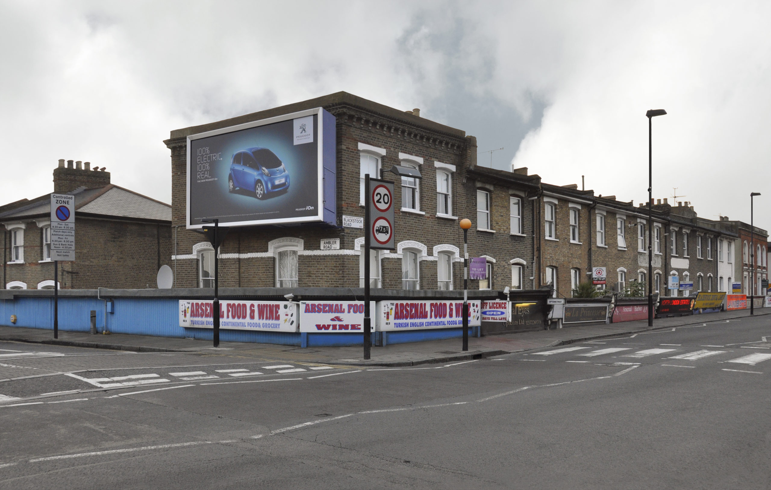 Finsbury 2, Blackstock Road, London