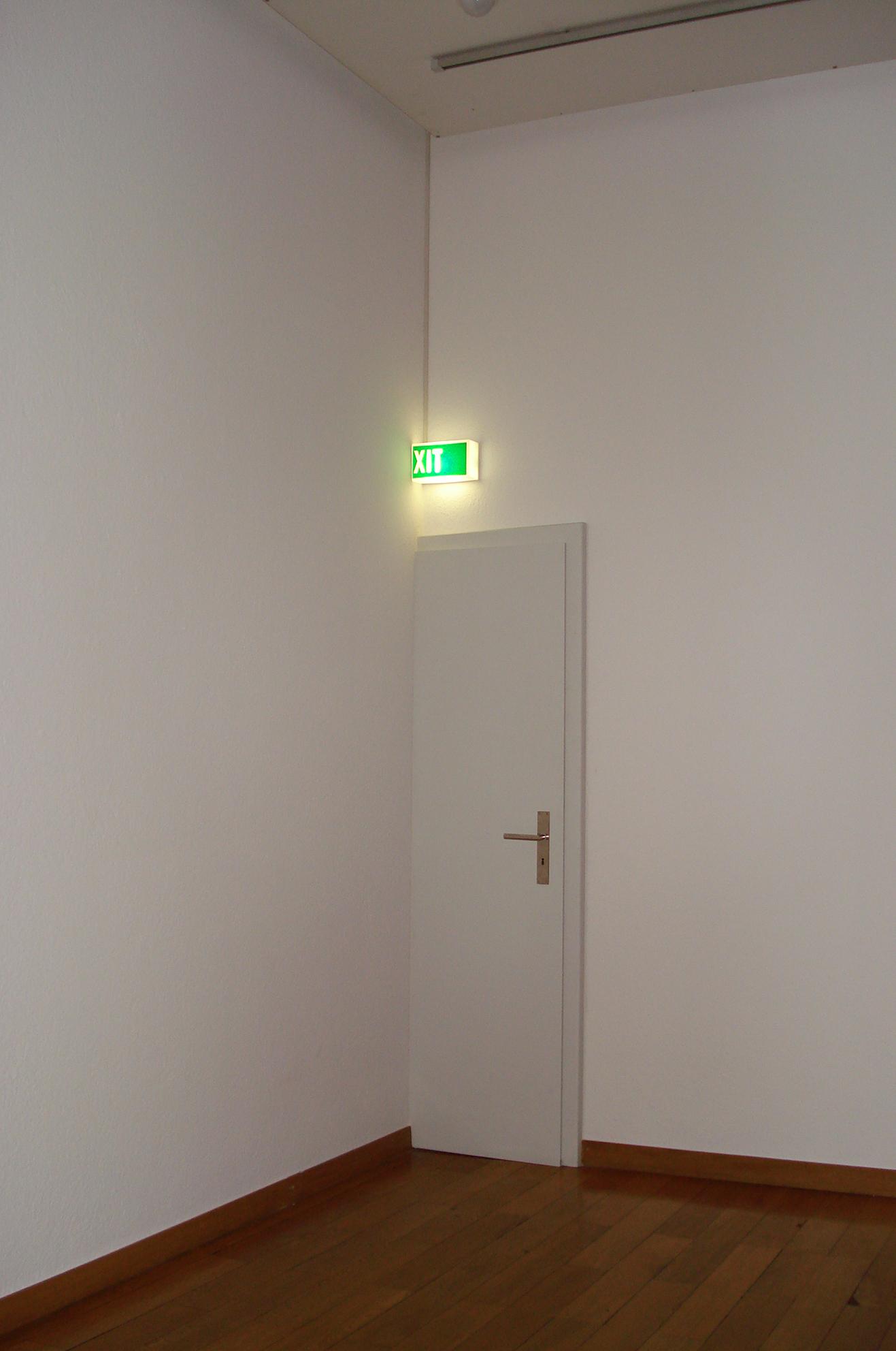 Open House, Musée Rath, Genève, CH, 2006