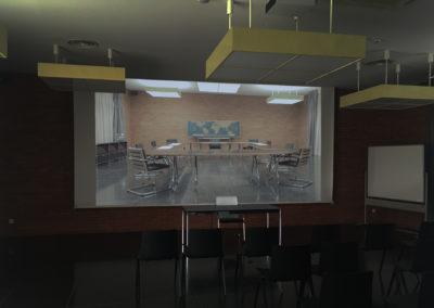 Bâtiment E, Haute école d'art et de Design de Genève, Geneva, CH, 2018