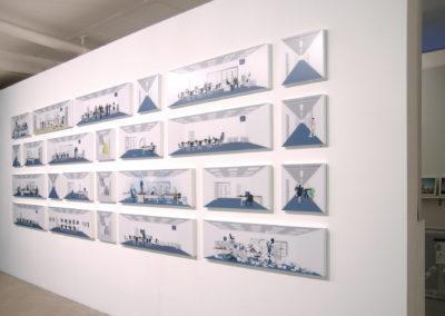 Des piles et des pièges, Edward Mitterrand Gallery, Geneva, CH, 2006