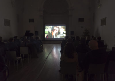 Architecture Invisible, video screening, Swiss Church, Covent Garden, London, UK